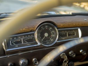 old car dashboard